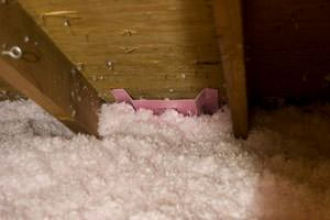 New Insulation installed in Newton attic