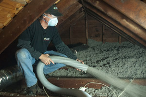 Cellulose Insulation Installation In Des Moines