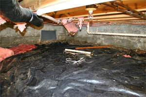 Don't let this be your moldy, damp, inefficient crawl space in IA.