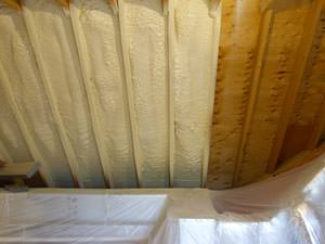 Spray Foam Insulation Installed In Marshalltown